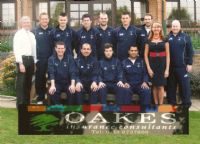 Oakes sponsor cricket club