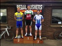 First win of the season for Oakes Insurance sponsored road race team...